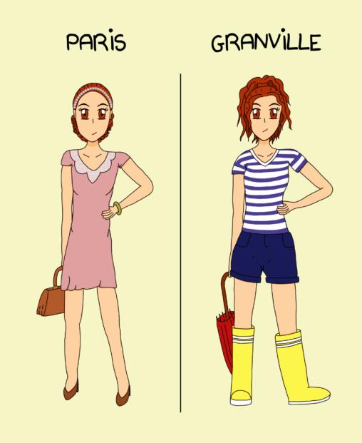 Paris VS Granville